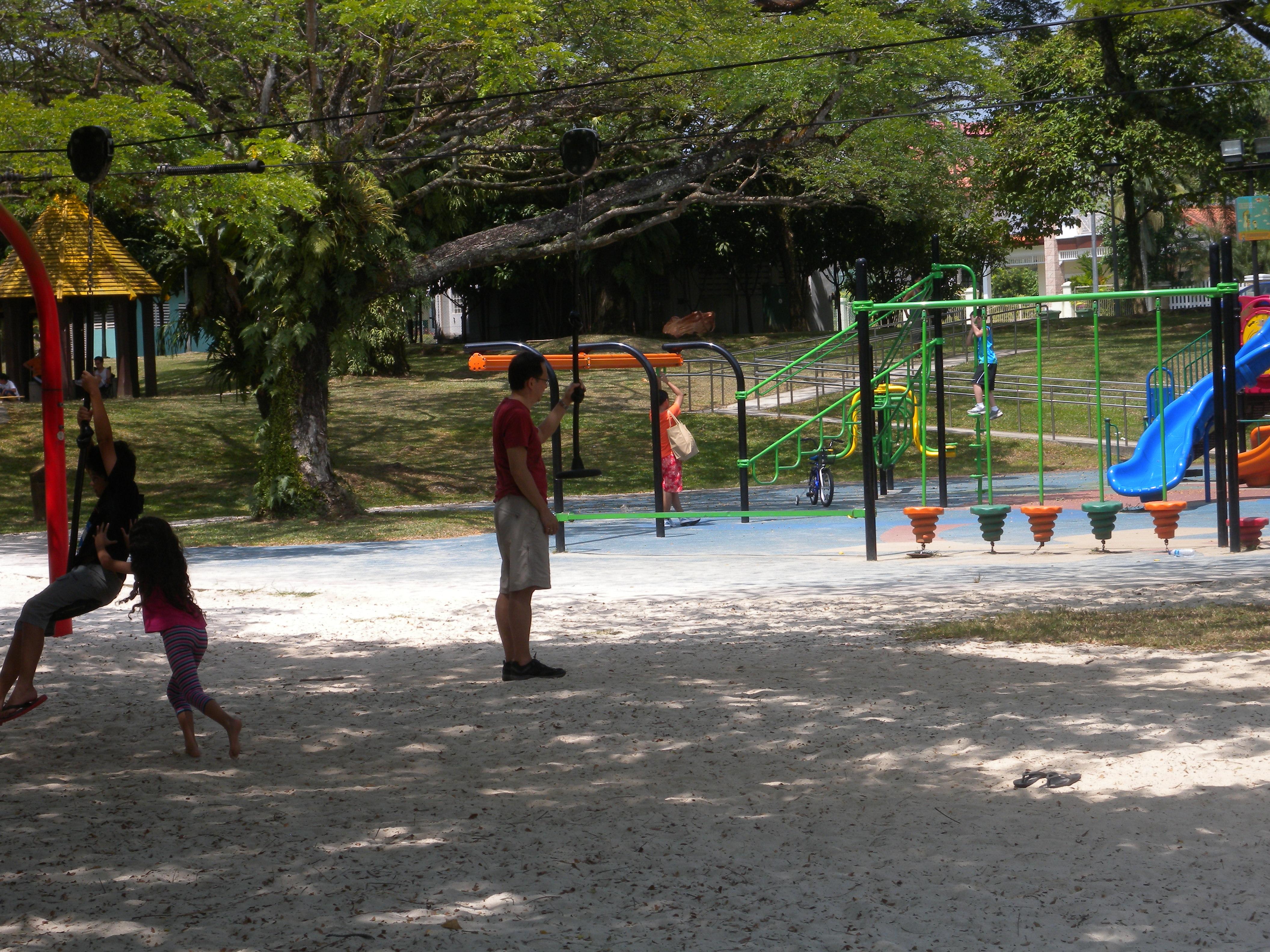 Deserted Car Parks Singapore