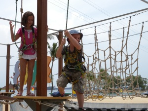 Megazip Adventure Park Siloso Beach