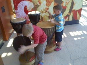 The Maritime Experiential Museum drumming