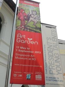 Singapore Art Garden
