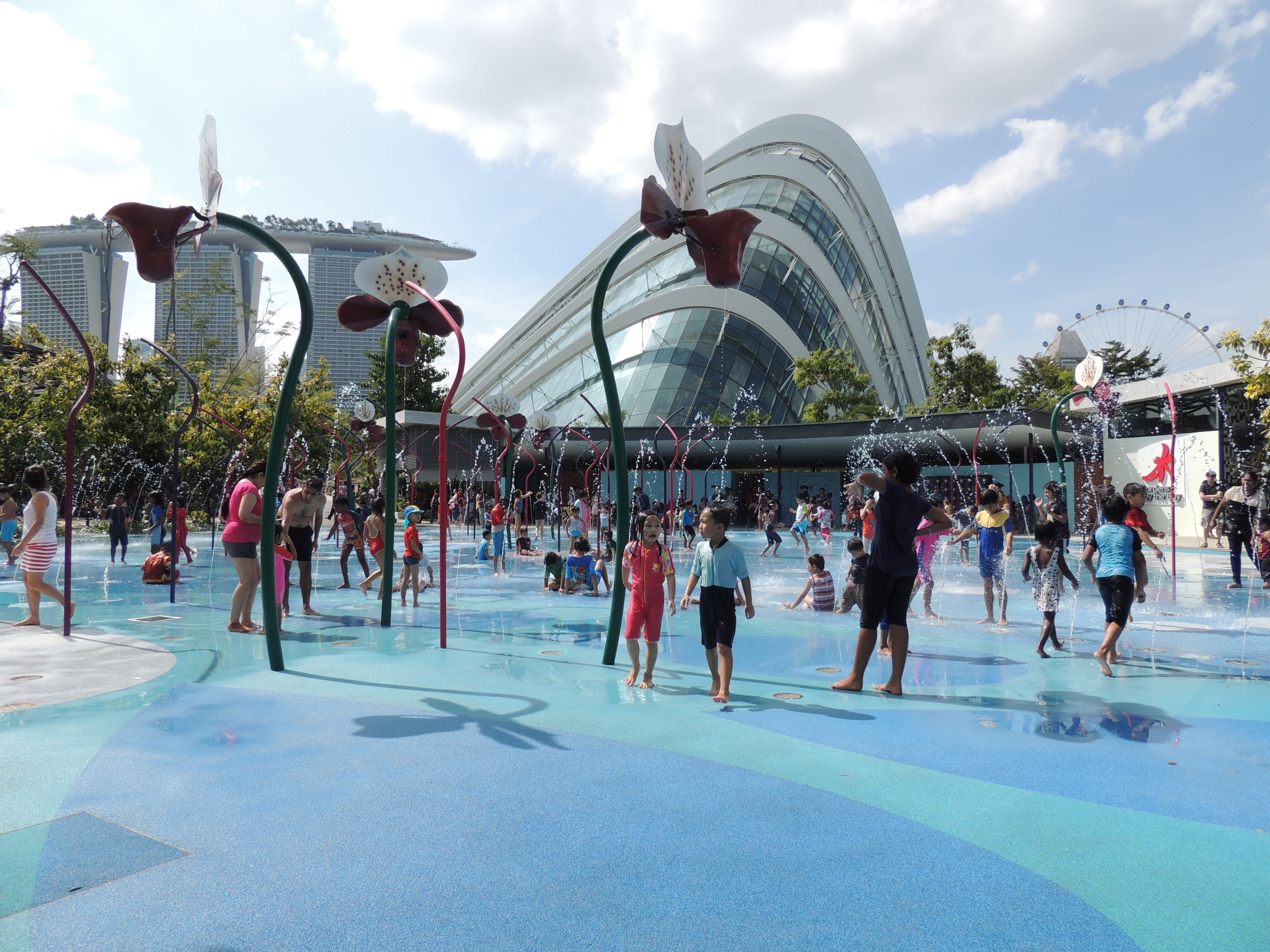 Garden By The Bay Water Park gardensthe bay | singaporekids365
