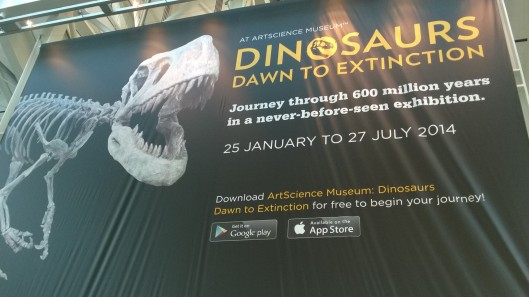 Dinosaurs Dawn to Extinction ArtScience Museum Singapore